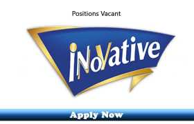 Jobs in Innovative Biscuits 2020