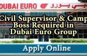 Dubai Euro Group Careers 2020