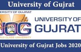 University of Gujrat Jobs 2020
