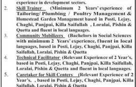 Leading Organization Balochistan Jobs 2020