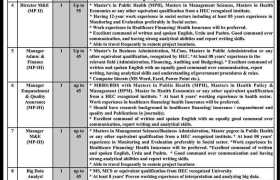 Health Department Government of Khyber PakhtunkhwaJobs 2020