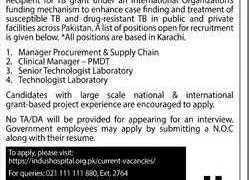 Indus Health Network Jobs 2020