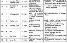 Quaid-e-Azam Industrial Estate Jobs 2020