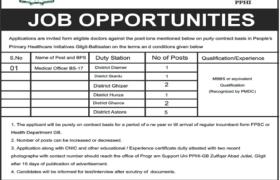 PPHI Gilgit Baltistan Jobs 2020