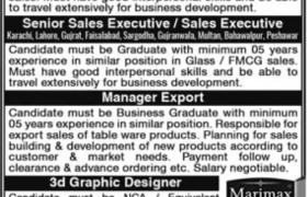 Balochistan Glass Ltd Jobs 2020
