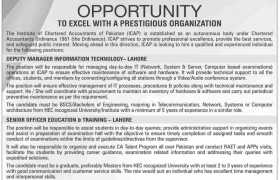 ICAP Lahore Jobs 2020