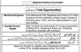 Mughals Pakistan Pvt Limited Jobs 2021