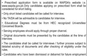 WAPDA Faisalabad Jobs 2021
