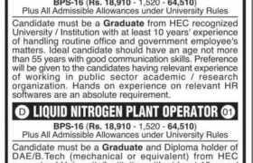 University of Karachi Jobs 2021