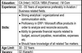 Shaheen Airports Services Jobs 2021