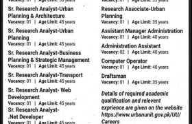 The Urban Unit Jobs 2021