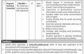 Jobs in Planning & Development Department Ajk 2021