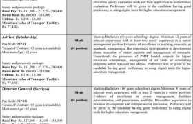HEC Pakistan Jobs 2021