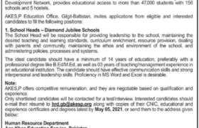 Jobs in The Aga Khan Education Service 2021