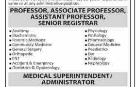 Jobs in Islam Medical College Sialkot 2021