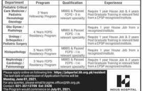 Indus Hospital Fellowship Program 2021