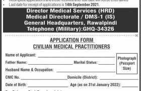 Jobs in GHQ Rawalpindi 2021