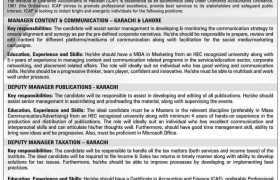 ICAP Pakistan Jobs 2021