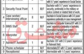 National Organization Jobs in Peshawar 2021