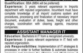 Auto Parts Manufacturing Company Jobs 2021