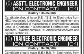Jobs & Internships at University of Karachi 2021