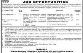 L&DD Department Punjab Jobs 2021