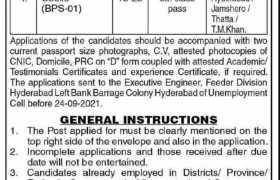 Irrigation Department Feeder Division Jobs 2021
