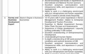 Gilgit Baltistan Rural Support Program Jobs 2021