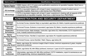 Jobs in OMI Hospital Karachi 2021