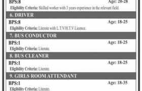 Jobs in GC University Lahore 2021