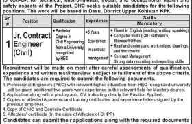 Jobs in Dasu Hydropower Consultants 2021