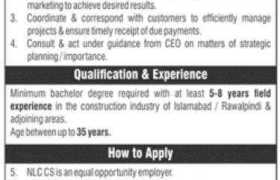Jobs in NLC Construction Solutions 2021