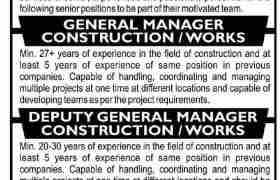 Jobs in Renowned Construction Group 2021