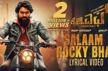 salaam rocky bhai lyrics