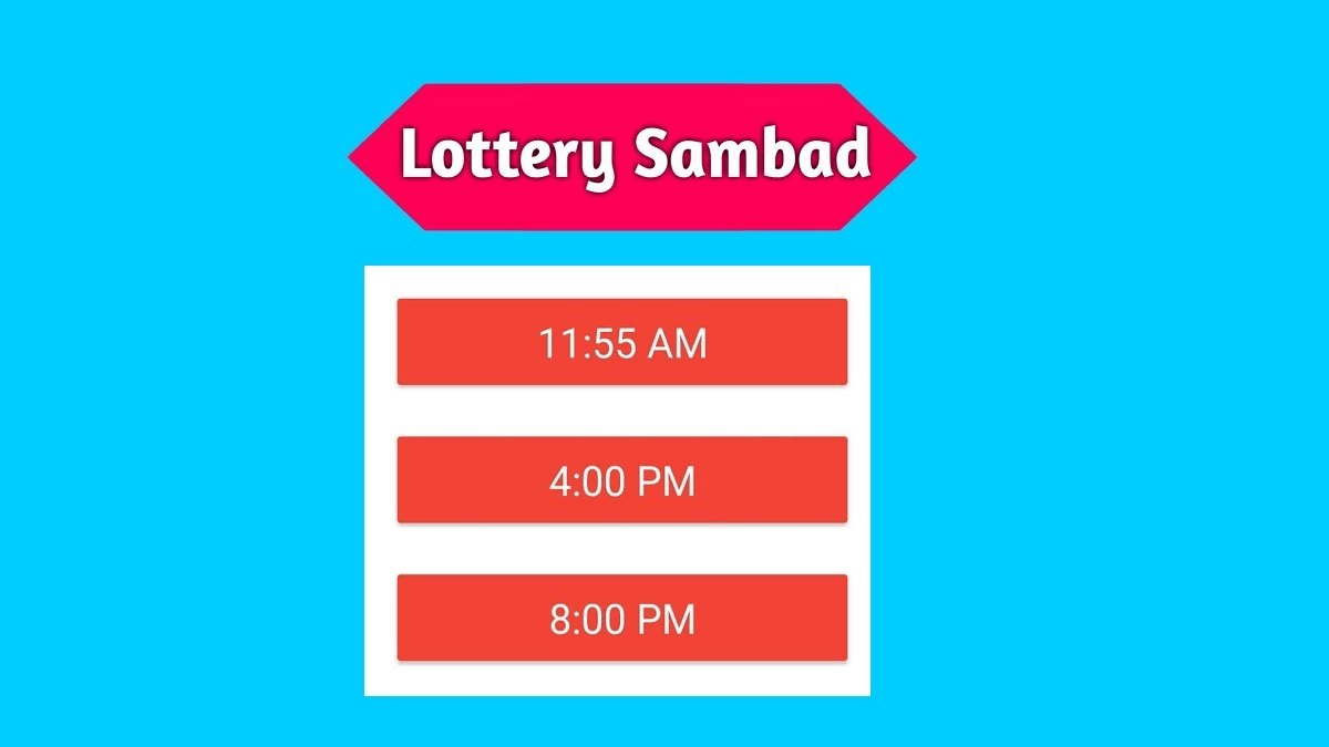 Lottery Sambad 15 Tarik Today Result Live 15.05.2021 11:55AM, 4PM, 8PM