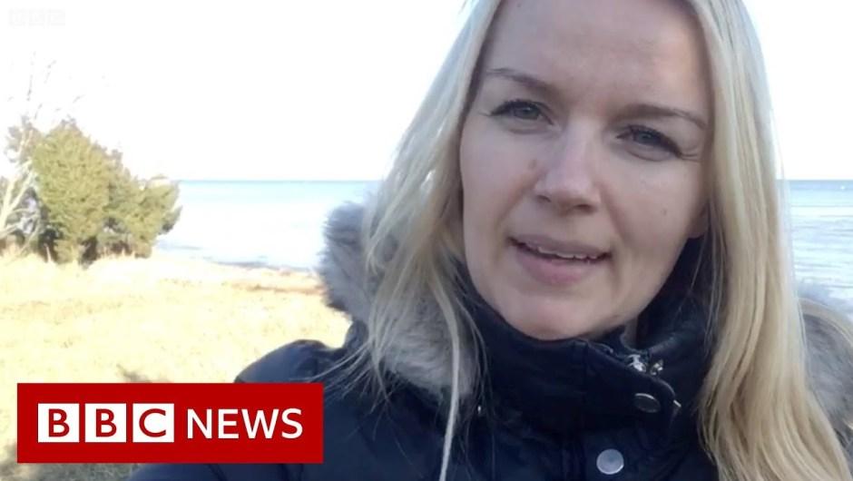 Life on Estonia's 'corona island' – BBC News