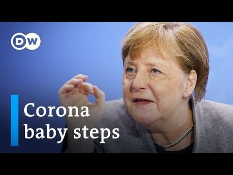 Coronavirus: Merkel lays out plan to loosen Germany's partial lockdown   DW News