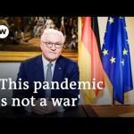 German President Steinmeier: Coronavirus a 'test of our humanity' | DW News