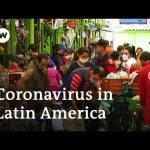 Coronavirus circumstances in Latin America prime 100,000 | DW Information