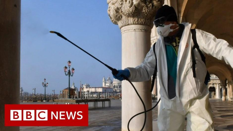 Coronavirus: Virus circumstances rise quickly in Europe and US – BBC Information