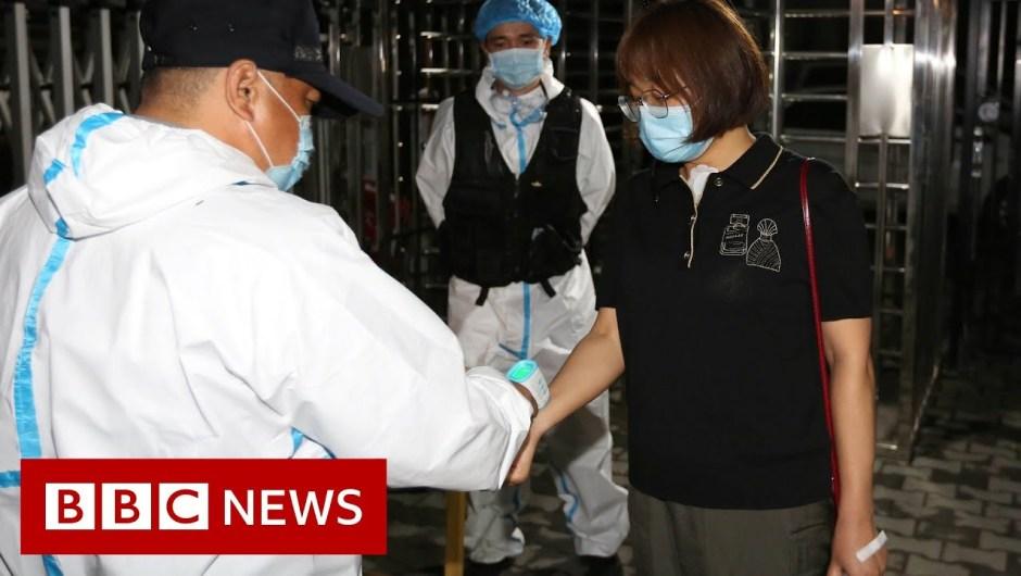 China has no home instances of coronavirus however lockdown in Xinjiang continues – BBC Information