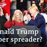 Donald Trump: Coronavirus tremendous spreader? | DW Information