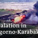 Armenia and Azerbaijan conflict over disputed Nagorno-Karabakh area   DW Information