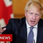 Coronavirus: UK is 'previous the height' says PM Boris Johnson – BBC Information