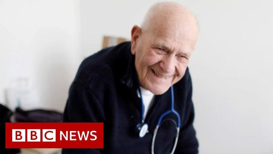 Coronavirus: 98-year-old physician working via the lockdown – BBC Information
