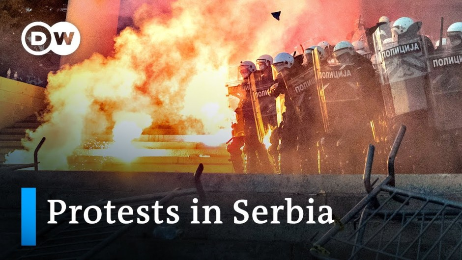 Serbia protests in opposition to the federal government's coronavirus response flip violent | DW Information