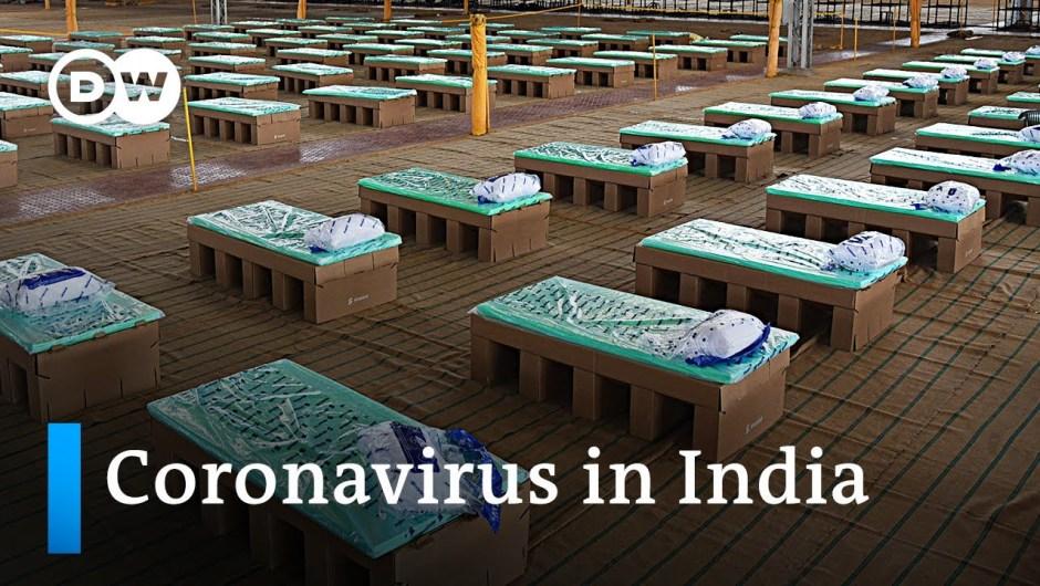 Coronavirus instances surge in India's capital Delhi   DW Information