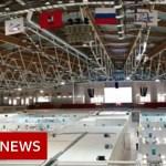 Coronavirus: Russia makes use of ice rink as discipline hospital – BBC Information