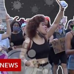 Coronavirus: Protest, rally or consuming out – The place is riskier? – BBC Information