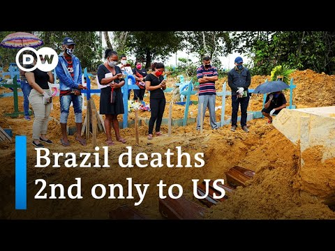 Brazil reopens as coronavirus loss of life toll tops Britain's   DW Information